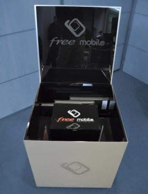 Free mobile - Boite 2