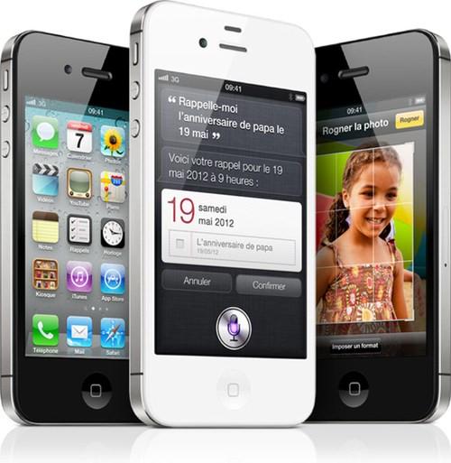 apple iphone 4 et 4s les prix de free mobile d taill s. Black Bedroom Furniture Sets. Home Design Ideas