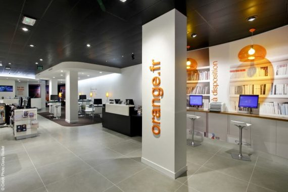 Orange - Boutique (Amiens) - © Daisy Reillet pour Orange