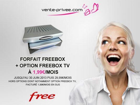 Free - Vente privée