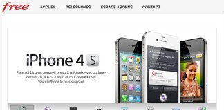iPhone 4S chez Free mobile