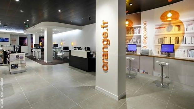 Boutique Orange a Amiens