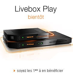 Nouvelle Livebox Play Orange