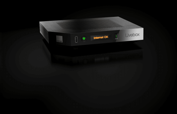 Orange Livebox Play : box modem