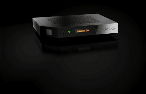 Orange Livebox Play : box modem
