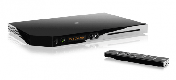 Orange Livebox Play : box tv