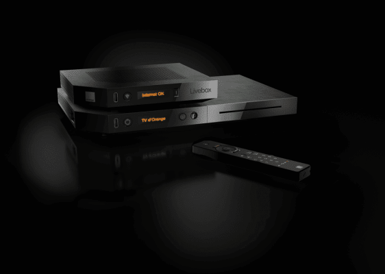 Orange Livebox Play : box tv et modem