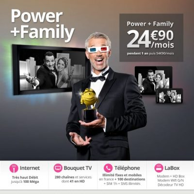 Vente privée Numericable Power+Family