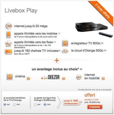 Orange - Livebox Play
