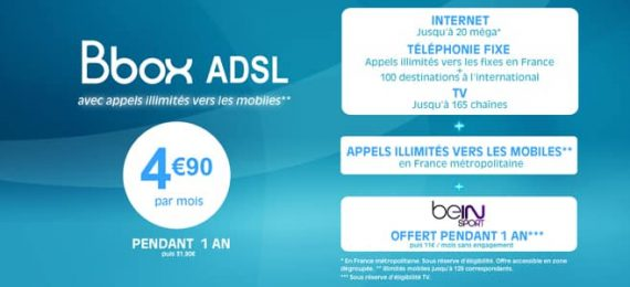 Bouygues Telecom - Vente privée Bbox adsl