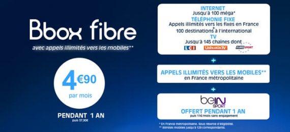 Bouygues Telecom - Vente privée Bbox fibre optique
