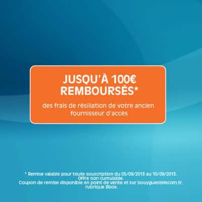 Bouygues Telecom - Vente privée (frais de résiliation offerts)