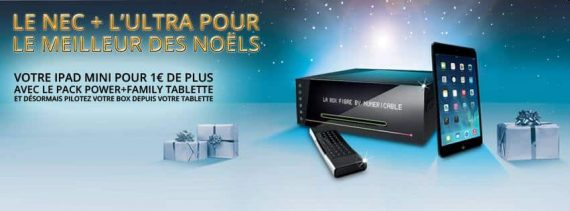 Offre de Noël Numericable : iPad pour 1 euro de plus