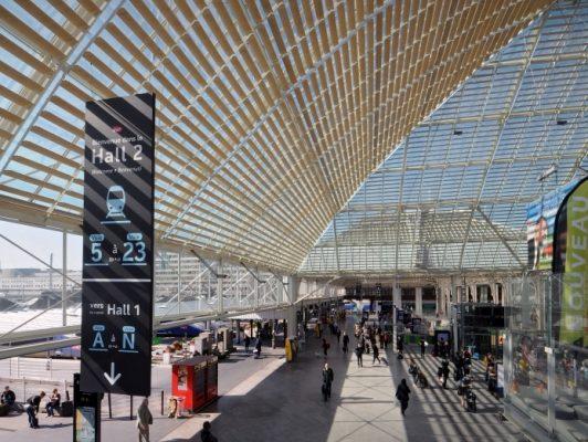 Paris-Gare de Lyon - Verrière Hall 2 (image Mathieu Lee Vigneau - SNCF - AREP)