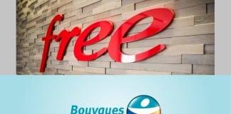 Logos : Free - Bouygues Telecom
