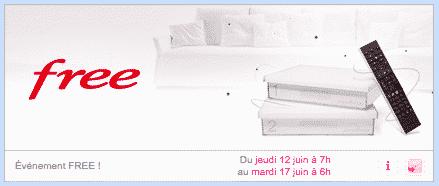 Freebox Crystal : Vente privée (juin 2014)