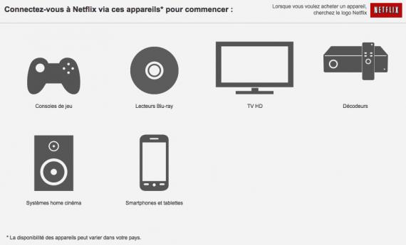 Netflix : appareils compatibles