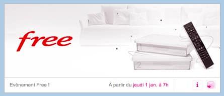 Free : vente privée janvier 2015