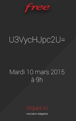 Invitation keynote Free (mars 2015)
