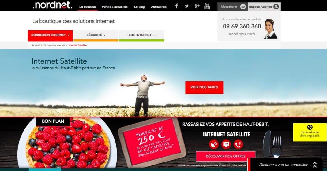 nordnet revoit ses offres d acc s internet par satellite adsl et fibre fr. Black Bedroom Furniture Sets. Home Design Ideas