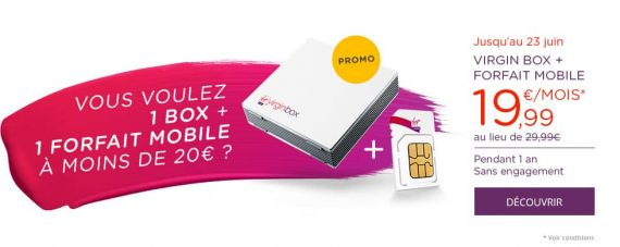 Virgin Box en promotion chez Virgin Mobile