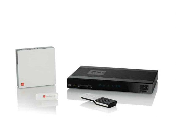 SFR - Box et décodeur TV Evolution