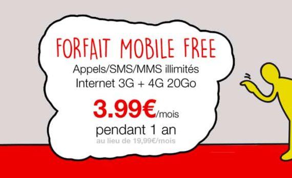 Free mobile : vente privée juin 2015