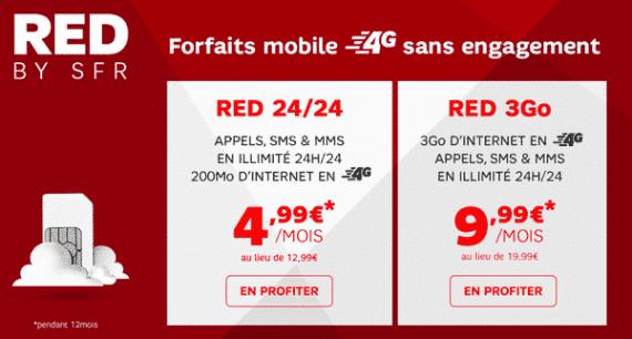 RED de SFR : vente privée sur Showroomprive.com (juillet 2015)
