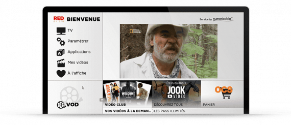 RED by SFR - Interface TV