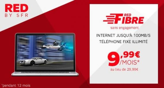 RED by SFR : promotion RED Fibre sur showroomprive.com