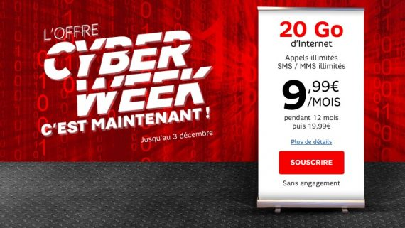 RED by SFR : Cyber Week (mobile)