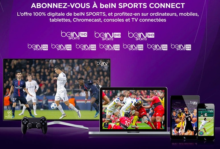 bein sports connect en promotion sur vente priv e jusqu au 2 avril adsl et fibre fr. Black Bedroom Furniture Sets. Home Design Ideas