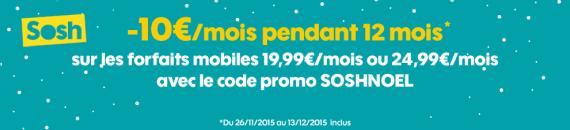Sosh : Noël 2015