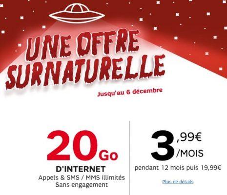 RED by SFR : une offre surnaturelle (décembre 2015)