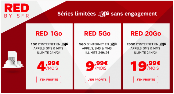 RED by SFR : vente mobile showroomprive.com (janvier 2016)