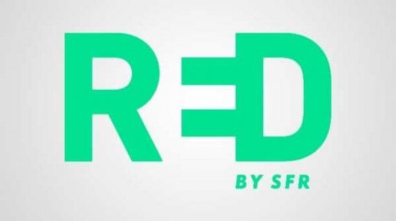 RED by SFR : nouveau logo (février 2016)