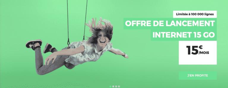 RED by SFR : un forfait mobile 15 Go à 15 euros pour fêter sa nouvelle identité