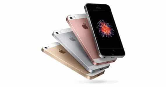 Le nouvel iPhone SE d'Apple, disponible nu à partir de 489 euros.