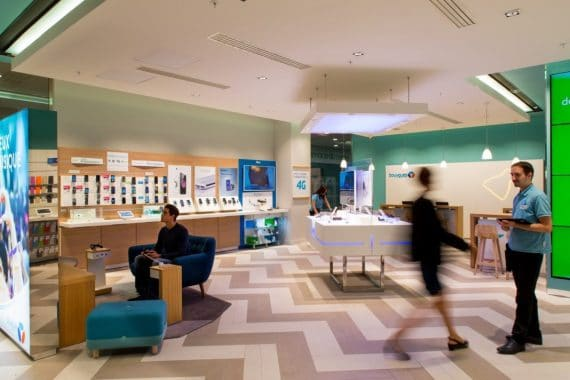 Bouygues Telecom : boutique Parly (photo : agence W)