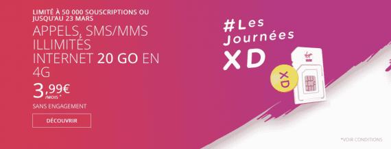 Virgin Mobile #LesJournéesXD (mars 2016)