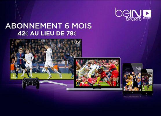 beIN Sports Connect (vente privée : 6 mois pour 42 euros)