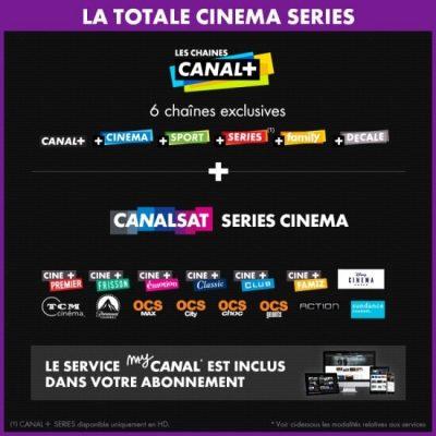 CANAL - La Totale Cinéma Séries