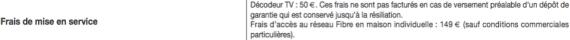 Orange Livebox 2016 : frais de mise service du décodeur TV
