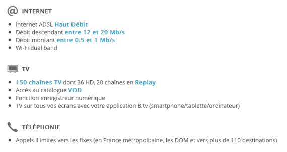 20 ans Bouygues Telecom : la Bbox offerte à certains clients pendant un an (détails de l'offre)