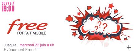 Free Mobile : vente privée juin 2016