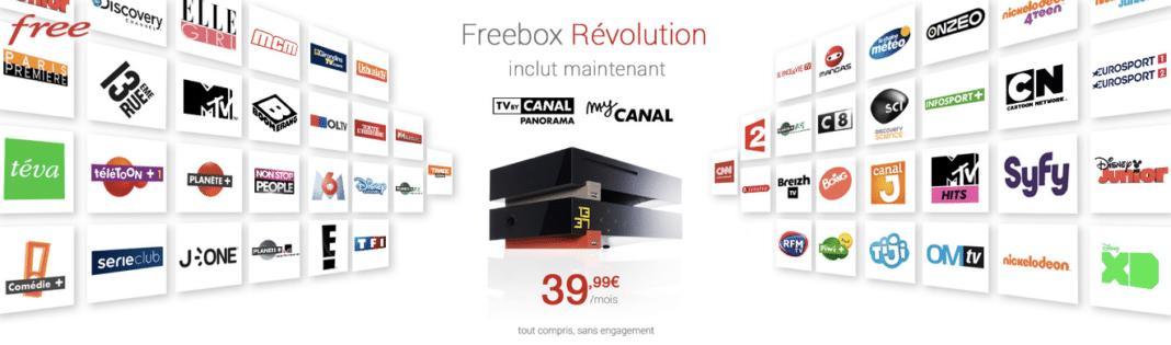 free augmente le tarif de sa freebox r volution mais y. Black Bedroom Furniture Sets. Home Design Ideas