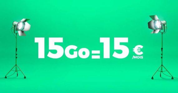 RED by SFR : forfait mobile 15 Go à 15 euros / mois (rentrée 2016)