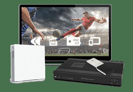 RED by SFR : matériel ADSL (box + décodeur TV)
