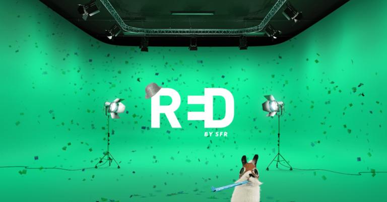 RED by SFR : la box THD ou fibre optique à 22 euros, avec 2 options offertes