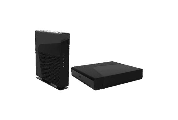 SFR : Box plus et décodeur plus en fibre optique jusqu'à l'abonné (FTTH)